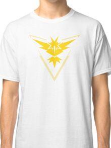 Pokemon GO Team Instinct   Team Yellow Classic T-Shirt