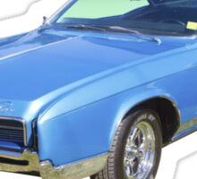 Blue 1967 Buick Riviera Muscle Car Sticker