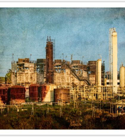 Abandoned refinery Sticker
