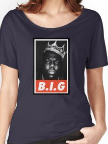 (MUSIC) Notorious Big Women's Relaxed Fit T-Shirt