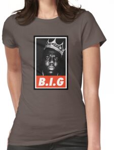 (MUSIC) Notorious Big Womens Fitted T-Shirt