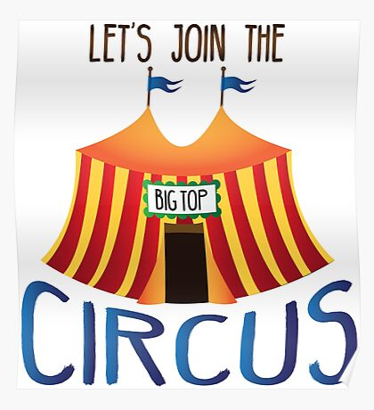 Let's Join the Circus Poster