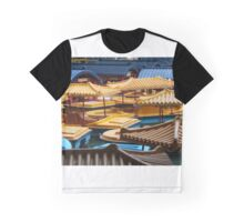 Chinese Paddle Boats Graphic T-Shirt