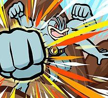 Machamp | Dynamic Punch by ishmam