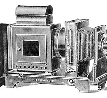 Old Line Art of a Westminster Enlarger by Kawka