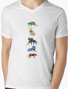 Voltron Lions Mens V-Neck T-Shirt