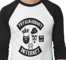 TotalMarkOut Logo Men's Baseball ¾ T-Shirt