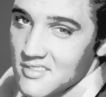 (LEGEND) Elvis Presley Sticker