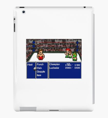 RPG Wrestling iPad Case/Skin