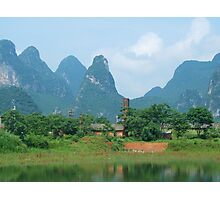 The Chinese Countryside Photographic Print