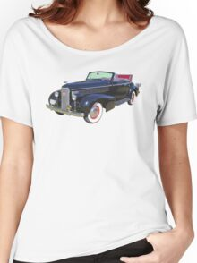 Black 1938 Cadillac Lasalle Antique Car Women's Relaxed Fit T-Shirt