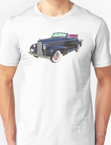 Black 1938 Cadillac Lasalle Antique Car T-Shirt
