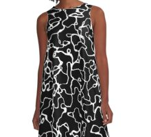 Abstract 080716(9) A-Line Dress