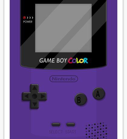 Gameboy Color 2.0 - Purple Sticker