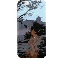 Camp Fire // Comic Style iPhone Case/Skin