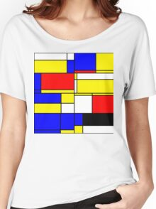 Abstract 10 Women's Relaxed Fit T-Shirt