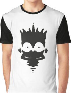 Inkblot Bart Graphic T-Shirt