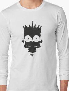 Inkblot Bart Long Sleeve T-Shirt