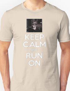 Five Nights at Freddy's: Keep Calm & Run On (Foxy) Unisex T-Shirt