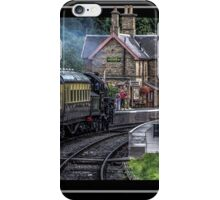 SEVERN VALLEY STEAMER iPhone Case/Skin