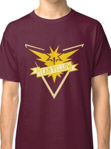Team Yellow - Pokemon GO Classic T-Shirt