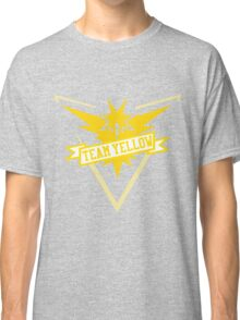 Team Yellow - Pokemon GO Classic T-Shirt