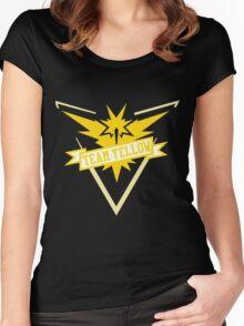 Team Yellow - Pokemon GO Women's Fitted Scoop T-Shirt