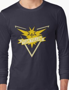 Team Yellow - Pokemon GO Long Sleeve T-Shirt
