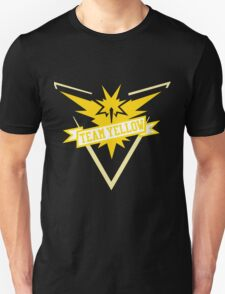 Team Yellow - Pokemon GO Unisex T-Shirt