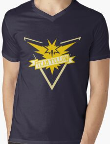 Team Yellow - Pokemon GO Mens V-Neck T-Shirt