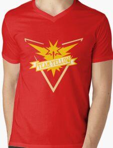 Team Yellow - Pokemon GO Mens V-Neck T-Shirt