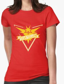 Team Yellow - Pokemon GO Womens Fitted T-Shirt