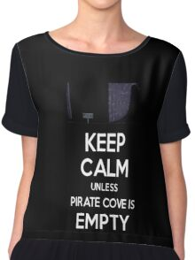 Five Nights at Freddy's: Keep Calm Unless Pirate Cove is Empty Chiffon Top