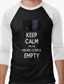 Five Nights at Freddy's: Keep Calm Unless Pirate Cove is Empty Men's Baseball ¾ T-Shirt