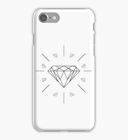DIAMONDS - white vrs. iPhone Case/Skin