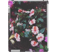 Flowers after rainstorm iPad Case/Skin