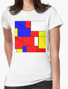 Abstract Art 13 Womens Fitted T-Shirt