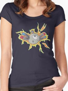 Magnemite Women's Fitted Scoop T-Shirt