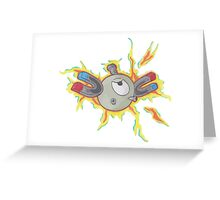 Magnemite Greeting Card