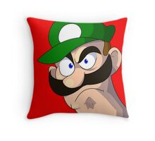 FURIOUS BROTHER Throw Pillow