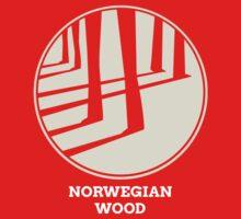 Norwegian Wood Murakami Baby Tee