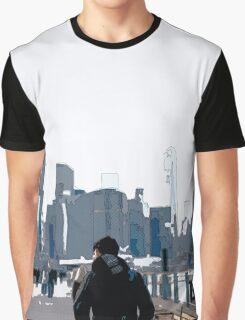 City Scene // Comic Style Graphic T-Shirt