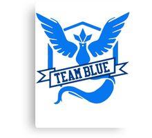 Team Blue - Pokemon GO Canvas Print