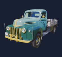 Old Flat Bed Ford Work Truck Kids Clothes