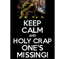 Five Nights at Freddy's: One's Missing! Photographic Print