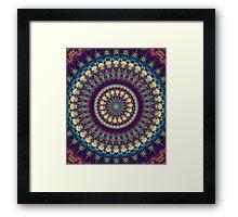Mandala 111 Framed Print