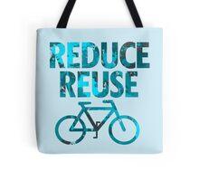 Reduce reuse bicycle Tote Bag