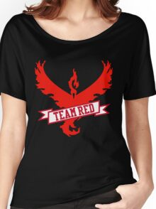 Team Red - Pokemon GO Women's Relaxed Fit T-Shirt