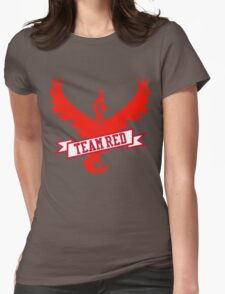 Team Red - Pokemon GO Womens Fitted T-Shirt