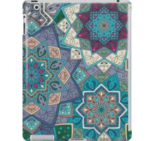 Purple & Blue Boho Mandela Pattern iPad Case/Skin